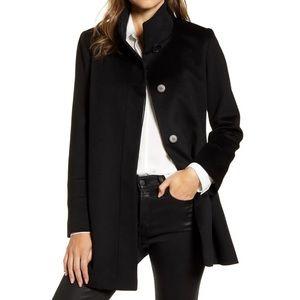✨ Fleurette Stand Collar Wool Car Coat ✨